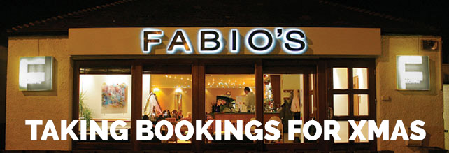 Welcome to Fabio's Restaurant